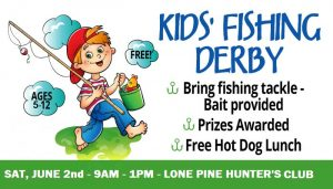 9th Annual Fishing Derby @ Lone Pine Hunter's Club River Front | Hollis | New Hampshire | United States