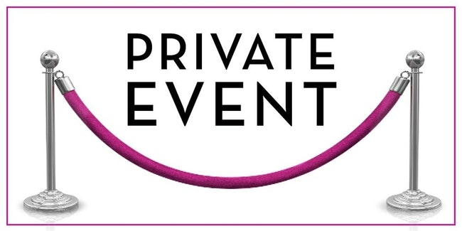 Prvate Event