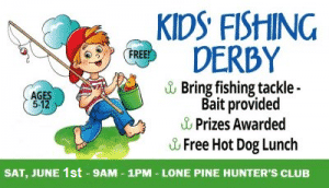 10th Annual Fishing Derby @ Lone Pine Hunter's Club River Front | Hollis | New Hampshire | United States