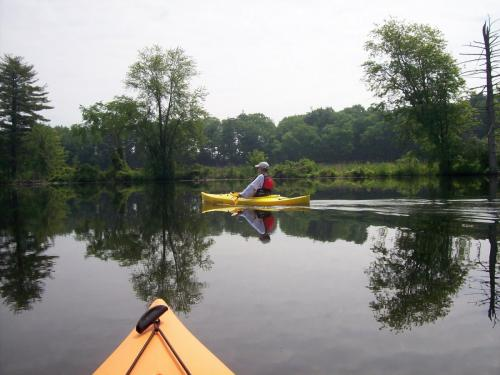 Kayaking-Nashua-River