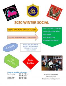 2020 Winter Social @ Alpine Grove | Hollis | New Hampshire | United States